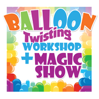 Combine Balloon twisting workshop with a magic show in brisbane