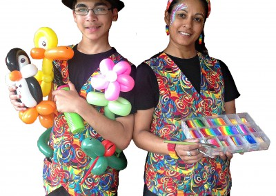 Face-painting-balloon-twisting-party-entertainers-brisbane