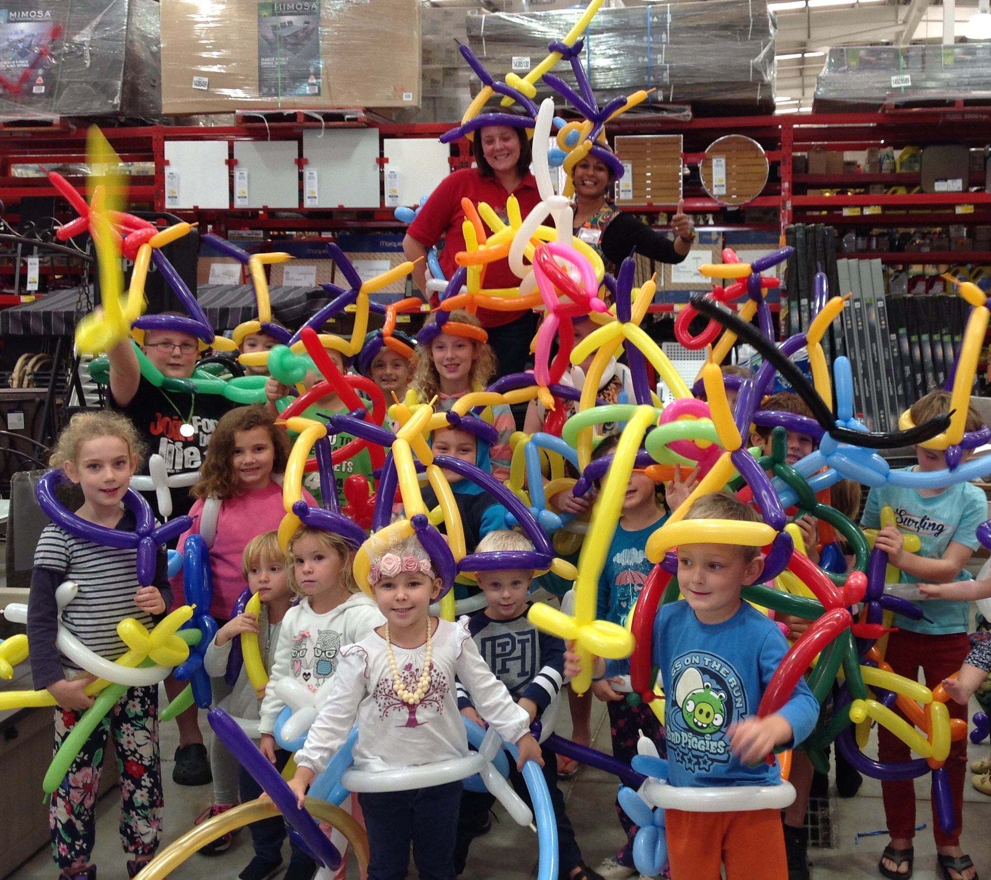 Balloon Twisting workshop in north brisbane
