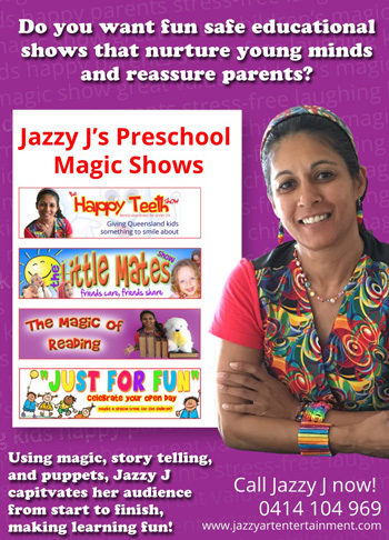 Preschool educational shows brisbane