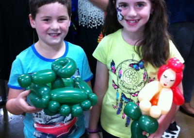Children with Balloon Art